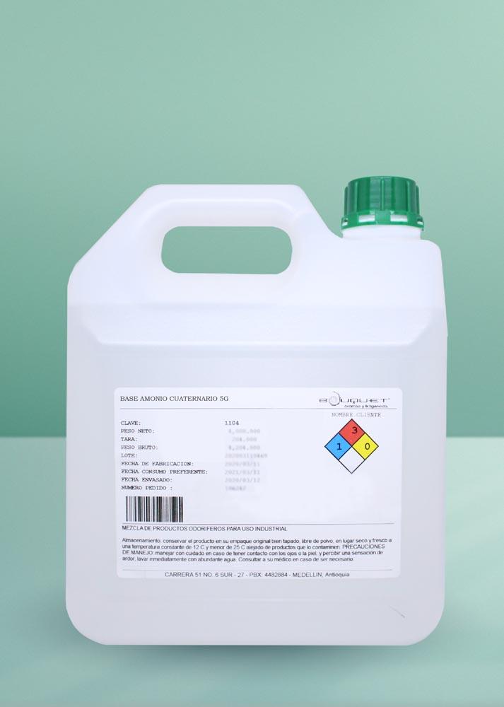 20. Base amonio cuaternario